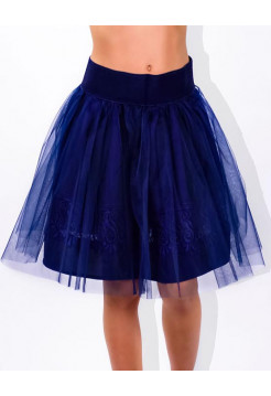 Школьная детская юбка из фатина на резинке
