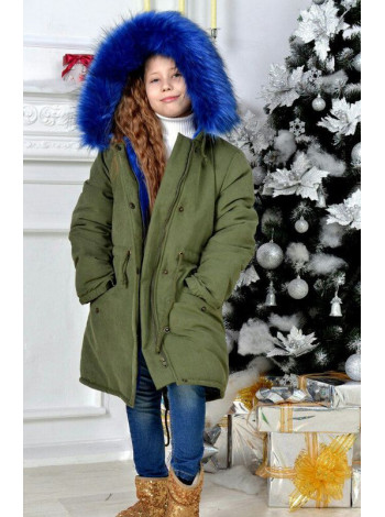 Зелена дитяча парка зима