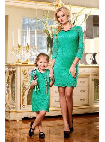 Дитяче мереживне плаття для дівчинки