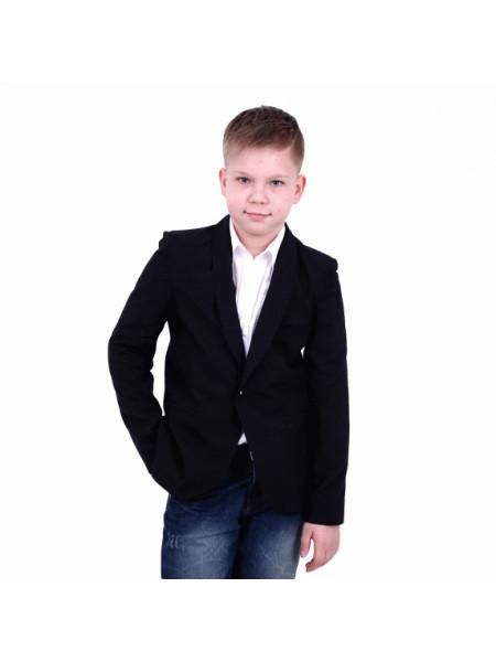 Черный школьный пиджак на мальчика