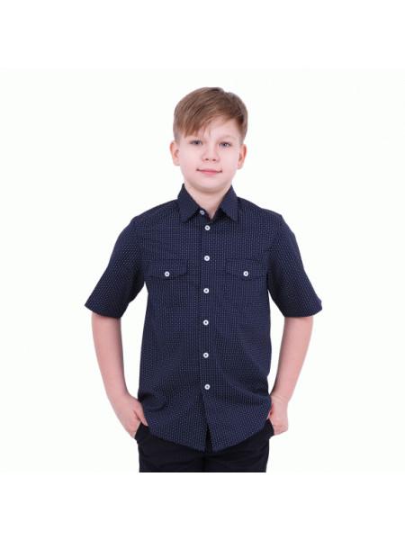Рубашка с коротким рукавом для мальчика