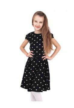 Шкільне плаття з коротким рукавом