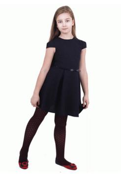 Платье школьное для девочки с коротким рукавом