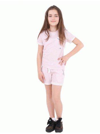Спортивний костюм з шортами для дівчинки