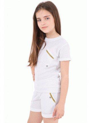 Трикотажные детские шорты для девочек