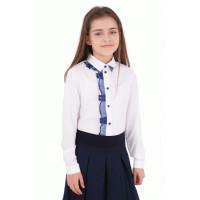 Нарядна блузка для дівчинки шкільна