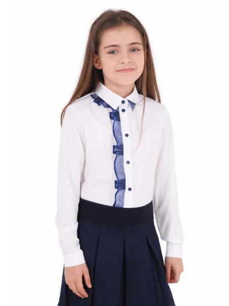 Нарядная блузка для девочки школьная