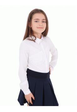 Блузка для дівчинки в школу