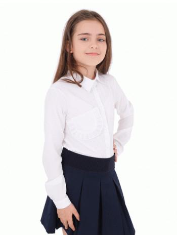 Блузка для девочки в школу