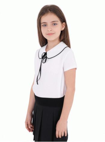 Белая модная блузка для школы