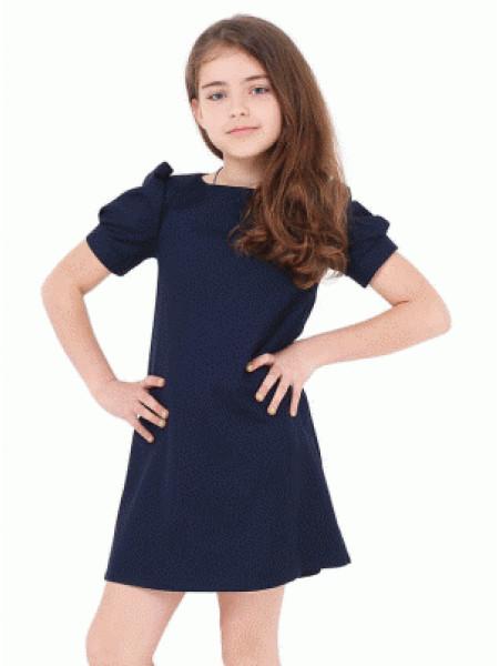 Шкільне плаття для дівчинки з рукавом ліхтарик