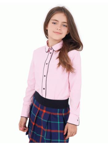 Блузка для дівчинки з довгим рукавом