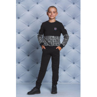 Модный спортивный костюм для мальчика 7, 8, 9, 10, 11, 12 лет