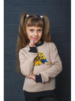 Детская толстовка свитшот с принтом