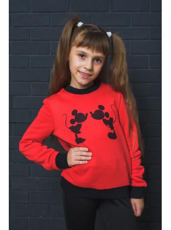 Дитячий світшот з принтом Міккі Маус