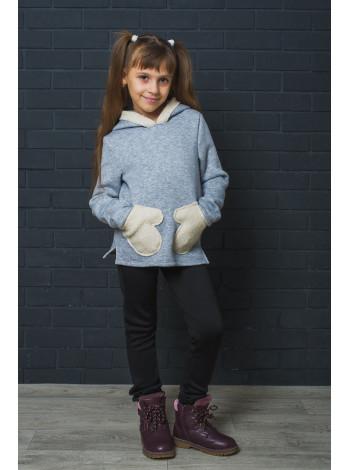 Детская толстовка для девочек 7 - 12 лет