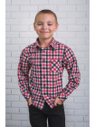 Стильна сорочка в клітку для хлопчика