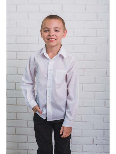 Класична сорочка білого кольору