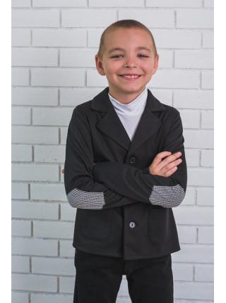 Стильний піджак для хлопчика шкільний