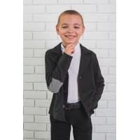 Стильный пиджак для мальчика школьный