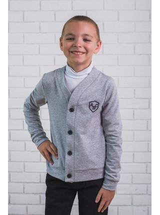 Кофта с длинным рукавом на пуговицах для мальчика
