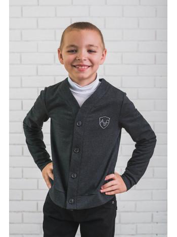 Кофта із довгим рукавом на ґудзиках для хлопчика