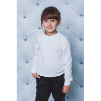 Дитяча блузка біла для школи