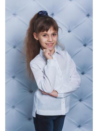 Классическая блузка белая для девочки
