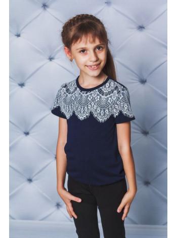 Дитяча блузка футболка для школи
