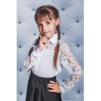 Детская нарядная блузка в школу
