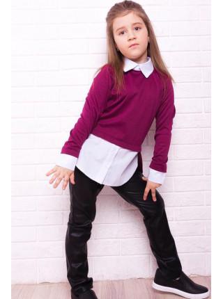 Модна дитяча кофта рубашка для дівчинки