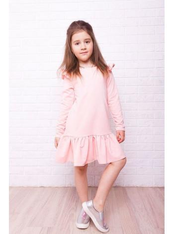 Красива сукня дитяча з воланом внизу