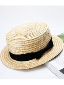 Детская соломенная шляпа канотье