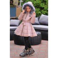 Детская зимняя куртка для девочек