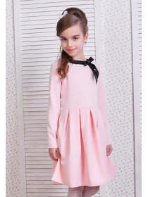 Красивое детское платье с бантиком