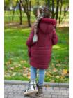 Зимова дитяча куртка з хутром