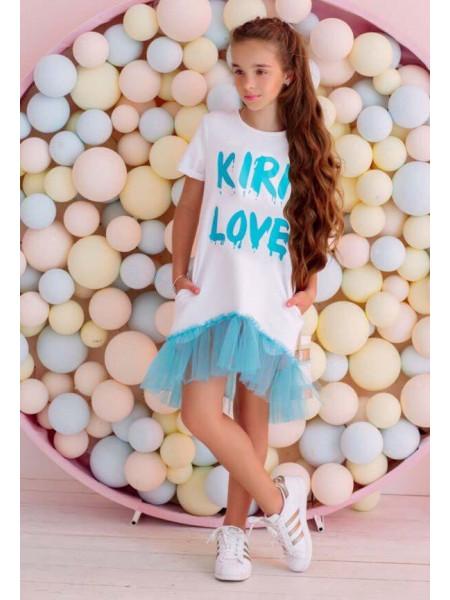 Проста літня сукня для дівчинки