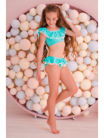 Детский купальник для девочек 7 8 9 10 11 лет