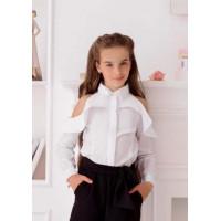 Нарядна рубашка для дівчаток в школу