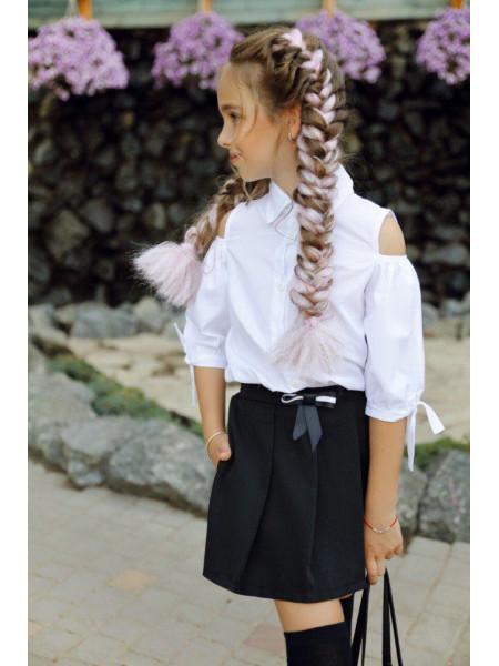 Детская красивая рубашка для девочек в школу