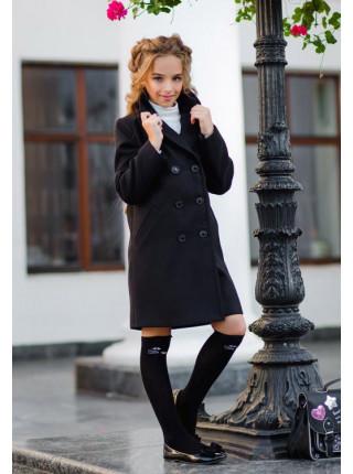 Кашемировое пальто детское для девочек