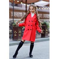 Кашемірове пальто дитяче для дівчаток