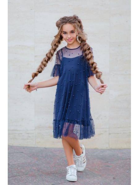 Модное детское платье на день рождения