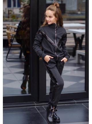 Теплый спортивный костюм для девочки