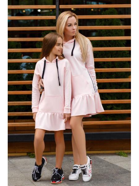 Красивое детское платье дочка мама