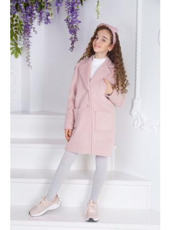 Детское красивое пальто для девочки
