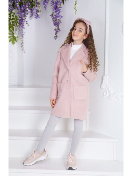 Дитяче красиве пальто для дівчинки