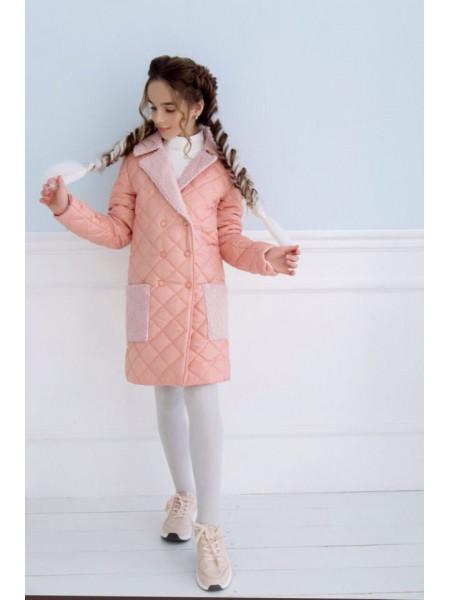 Модна куртка пальто для дівчинки