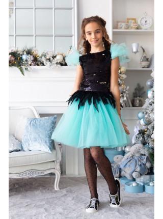 Нарядный костюм на девочку 9 10 11 12 лет