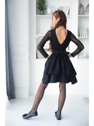 Вечернее платье с открытой спиной для девочки
